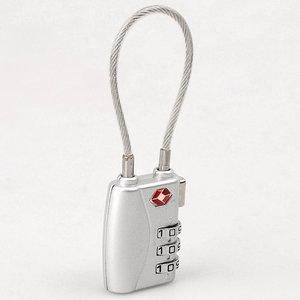TSA slot met kabel (zilver)